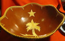 """Calabash Hand Crafted Gourd ~ Centerpiece Huge Large Bowl ~ Jamaica ~ 12 1/4"""""""