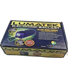 Lumatek Electronic Ballast 600 Watt 240 Volt