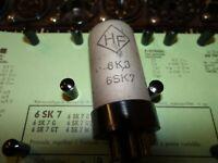 E-Röhre HF 6SK7 Tube 14 mA Valve auf Funke W19 geprüft BL-2040