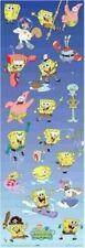SPONGEBOB SQUAREPANTS ~ CAST COLLAGE DOOR 21x62 CARTOON POSTER Sponge Bob
