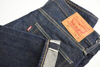LEVI STRAUSS & CO. 511 Men's W34/L32 Selvage Slim Fit Zip Jeans 35892_GS
