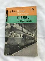 ABC British Railways Diesel Multiple-Units, Ian Allan Paperback Trains Book