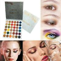 36 Color Shimmer Smoky Lidschatten-Palette Nude Rose EyeShadow Mirror Makeu O9W4