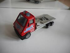Majorette Renault Master T35 in Red/Grey on 1:45