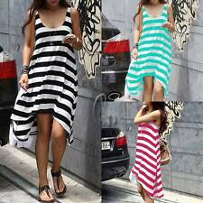 Cotton Summer/Beach Striped Clothing for Women