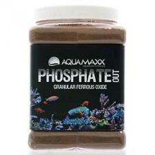 AQUAMAXX PHOSPHATE OUT GRANULAR FERRIC OXIDE FILTER MEDIA GFO - 1/4 GALLON -1 LB
