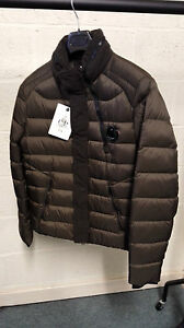 CP Company Ultralight Nylon Down Jacket In Brown BNWT