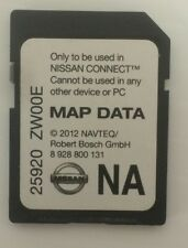 Nissan SD Map CARD OEM NAVTEQ 25920 ZW00E