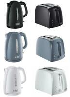Russell Hobbs 2 Slice Toaster & 1.7L Kettle Texture Collection Set