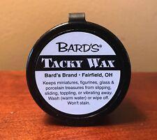 Bard's Tacky Wax ( Mini Hold Sticky Wonder Wax ) Temporary Adhesive - 2 Inch Tub