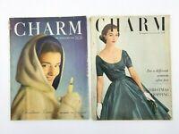 Vintage Charm Magazines Lot of 2 December 1947 November 1952 Gifts Christmas MCM