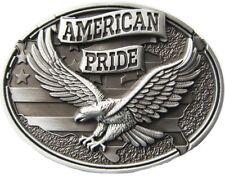 BOUCLE DE CEINTURE POUR rechange américain Pride Argent