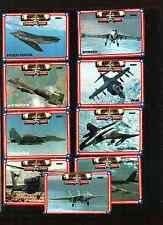 1991 SPECTRA DESERT STORM SERIES 1 COMPLETE SET 60 CARDS WITH NUBS