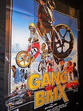 LE GANG DES BMX   !  affiche cinema  velo