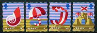 JERSEY MNH UMM STAMP SET 1975 SG 124-127 JERSEY TOURISM