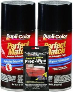 Duplicolor Nighthawk Black Pearl Acura & Honda Paint - Code: B92P (8 oz)