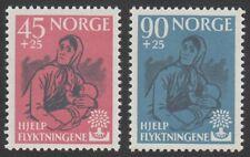 Norway, 1960 World Refugee Year. SG 499-500 Unmounted Mint MNH