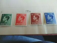 New listing Abdication1936 Edward Viii (8th) Gb 1936 ~Edward Viii,Set of Four Stamps