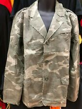 ARMY KHAKI GREEN CAMOUFLAGE QUILTED JACKET WITH POCKETS 100% COTTON