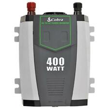 Cobra CPI 490 Refurb Compact 400 Watt Power Inverter W/ Cables 180 Day Warranty