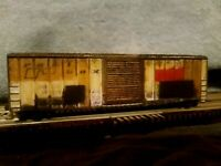 N SCALE 50 BOX CAR MTL ATLAS RH INTERMOUNTAIN ATHEARN FVM EXACTRAIL WEATHERED