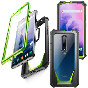 OnePlus 7 Pro Case,Poetic [Shock Absorbing] Protection Cover Green