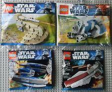 Lego Star Wars Minis 30052 30059 30053 30055 AAT MTT Cruiser Droid Fighter Promo