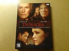3-DISC DVD BOX / DAMAGES: SEASON 2