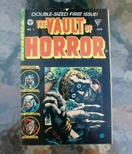 The Vault of Horror - NO 1 - Aug 1990 - DOUBLE SIZED FIRST ISSUE