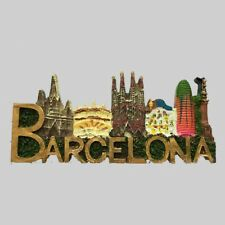 3D Sagrada Familia Fridge Magnet Spain Barcelona Travel Souvenirs Magnetic Decor