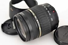 Excellent++ TAMRON AF 18-200mm f/3.5-6.3 LD MACRO Di II with Hood A14 for Canon