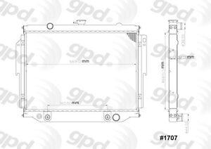 Radiator Global 1707