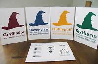 Harry Potter Greetings Cards - Blank - Birthday, Christmas, Congratulations Etc.