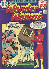 Wonder Woman 213 The War-No-More Machine! Flash Cover 1974 Fine Dc Comics
