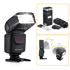 Speedlite Flash For Canon Rebel T6 T6i T5i T4i T3i T3 550D 5D Nikon D5200 D3100