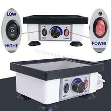 Portable Dental Lab Small Square Vibrator Model Oscillator Equipment 120W 2KG uk