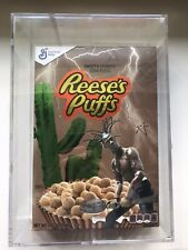 TRAVIS SCOTT ASTROWORLD REESES PUFFS CEREAL BOX ACRYLIC CASE (LIMITED EDITION)
