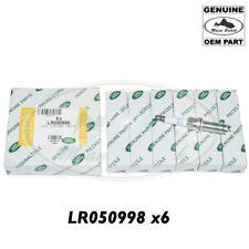 LAND ROVER SPARK PLUG LASER IRIDIUM x6 RANGE DS RR SPORT VELAR LR050998 GENUINE