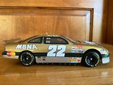 1997 Ward Burton MBNA Gold NASCAR 1/24th scale