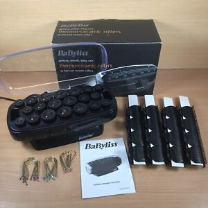Babyliss 3034U R4C Thermo Ceramic Heated Hair Rollers Set - Barely used - In box