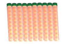 100 Paintballs Pellets .68 Caliber  pre-pack in 10 round tubes. - TUBE10-100-RND
