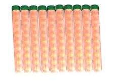 100 Paintballs Pellets .68 Caliber  pre-pack in 10 round tubes. - TUBE10-100-RND