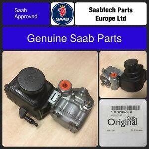 GENUINE SAAB 9-3 04-11 B207 PETROL - POWER STEERING PUMP & RESERVOIR 12842028