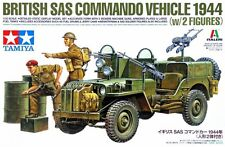 Tamiya 25152	1/35 British SAS Commando Vehicle 1944 with 2 Figures
