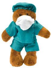 Stofftier Plüschtier Kuscheltier Teddybär Bär  Arzt, Doktor, OP, Chirurg Medizin