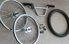 More details for bmx - hoffman bikes - mid school - gack girthy hubs + extras - bars, lever, tyre