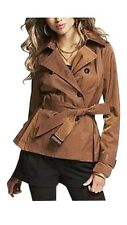 EXPRESS $148 Belted Military Trench Coat Jacket LARGE So CUTE! SPRING!!