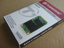 SSD 16GB mSATA Transcend TS16GMSA370 SATA3 6Gb/s MLC MSA370 MO-300 New