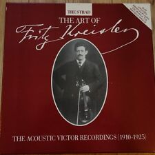 STRAD LB1/5 Art of Fritz Kreisler Acoustic Recordings 1910-1925 5 LP box set