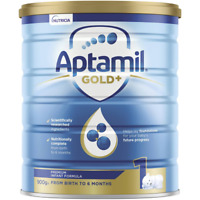 Aptamil Gold+ 1 Baby Infant Formula From Birth To 6Months 900g - Ship Worldwide
